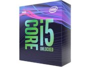 Intel® Core™ i5 - 9600K 3.7GHz (Max Turbo 4.6GHz) / Cores 6 Threads 6 / 9MB / Intel® UHD Graphics 630 / Unlocked (chưa quạt)