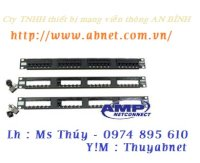 Patch Panel Amp Cat5  24 Port 1479154-2 48 Port 1479155-2