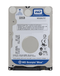 Western Digital Blue 320Gb - 5400Rpm - 8Mb Cache - Sata 6.0 Gb/s (Wd3200Lpvt)