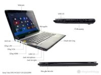 Sony Sve 14132 Cvb I3 3120, Laptop Sony, Sony Dep