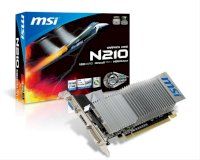 Msi N210-Md1Gd3H/lp (Nvidia Geforce Gt 210, Gddr3 1024Mb, 64 Bit, Pci-E 2.0)