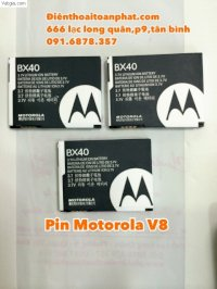 Pin Motrola V8- Pin Bx40