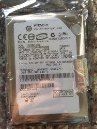 Hdd Laptop Hitachi 160G Sata