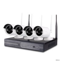Camera Ip Trọn Bộ 4 Camera Kit-Nvr0413