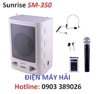 Máy Trợ Giảng Loa Lớn Sunrise Sm-350 Hỗ Trợ Usb, Audio In, Casette