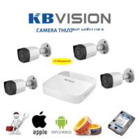 Hệ Thống 4 Camera Hd Kbvision