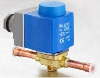 Van Điên Từ Danfoss Solenoid Valve With Coil, 032F1295 Refrigeration Evr 6 Valve Odf 10Mm No, Multi 12