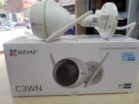 Camera Wifi Ezviz C3Wn - 2Mpx - Fhd 1080P