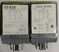 Rơ Le C2-E24 / 640 Ω (Rf-5453), Industrial Relay, Special Sensitive Coil - Releco, Customized, Coil 24Vdc
