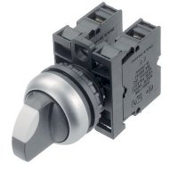 Công Tắc Xoay 2 Vị Trí, Moeller Selector Switch 2 Position M22-Wrk+M22-A+M22-K10+ M22-K01