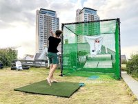 Golf Practice Net Cage Specification.