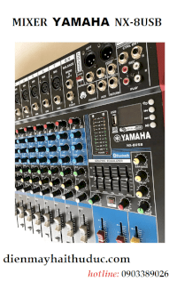 Mixer Yamaha Nx-8Usb Model 2020 Hỗ Trợ Bluetooth
