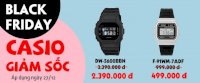 Black Friday Canthowatch Giảm Giá Khủng Đồng Hồ Casio