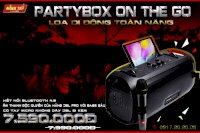Loa Jbl Partybox On The Go