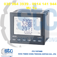 Nde1 - 1 And 3-Phase Power Network Meter - Lumel