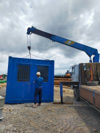 Container Toilet 10 Feet Văn Phòng