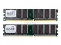 PQI Power Series - DDRam - 1GB (2x512MB) - bus 266MHz - PC 2100 kit