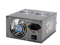 Sunbeam PSU-CGMI450-US-BK ATX 450W Black Tri Mirrored X-Plug Modular Power Supply 100V~120V/200~240V - Retail