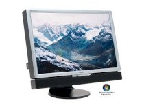 NEC Display Solutions 20WMGX2-BK Black-Silver 20.1inches - 6ms DVI Widescreen LCD Monitor with TV-Tuner support & 4-port USB 2.0 hub 470 cd/m2 1600:1 Built in Speakers - Retail