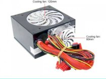 POWMAX Demon PSDE580 ATX 2.03 580W Power Supply 115/230 V UL, CB, CE, TUV, FCC - Retail