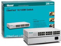 Micronet SP624EA - 24 Port  Fast Ethernet Switch