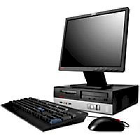 Máy tính Desktop IBM - Lenovo ThinkCentre E50 (8294-24A),Intel 915GV Intel Pentium4 519 (3.06Ghz, 1MB Cache), 256MB DDR2, 80GB SATA, Windows XP Pro