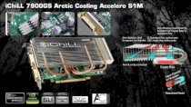 Inno3D Geforce 7900GS Accelero S1M IChill ArcticCooling (Geforce 7900GS, 512MB, 256-bit, GDDR3, PCI-Express x 16)