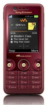 Sony Ericsson W660i Rose Red