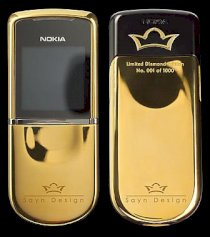 Nokia 8800 Sirocco Diamond Edition