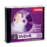 DVD+R Imation Double layer (8.5GB/4X) 2 lớp (1 DVD)