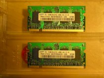 SAMSUNG - DDRam2 - 1GB - Bus 533MHz - PC2 4200 For Laptop