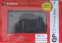 RANGER ZP 2.5-inch pocket harddisk 100GB
