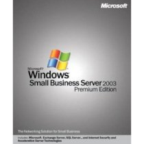 Windows Server 2003 for Small Business w/SP1 English CD 5 Clt (T73-00494)