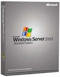 Windows Svr Std 2003 R2 Win32 English CD 10 Clt (P73-01670)