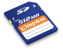 Kingston SD Card 512MB
