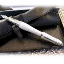 Chast Lady Writing Pen