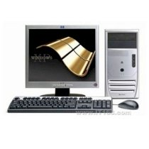 Máy tính Desktop HP-COMPAQ DX2700, Core 2 Duo E4300 – 2*1.8 GHz/2MB Cache, 256 MB RAM, Video Intel GMA 3000, 80 GB HDD, CDROM 52x, Nic 10/100, XP Pro