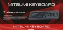 Mitsumi 2408 (Key board Black Vỏ Đỏ Ps/2)