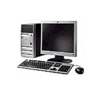 Máy tính Desktop HP-COMPAQ DX2700, Pentium Dual Core E2140 – 2*1.6 GHz/ 2MB Cache, 512 MB RAM, Video Intel GMA 3000, 80 GB HDD, CDROM 52x, Nic 10/100, Chassis design microtower/ PC DOS