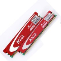 Adata Vitesta G series - DDR3 - 2GB (2x1GB) - bus 1066MHz - PC3 8500 kit
