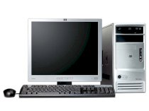 Máy tính Desktop HP-Compaq Dx7300-ET113AV (Intel Pentium D641 (3.2GHz , 2 Mb L2 cache , 800MHz FSB) , 512MB RAM ,  80GB HDD , VGA Intel GMA 3000 , Windows XP Home , HP 15 inch CRT)