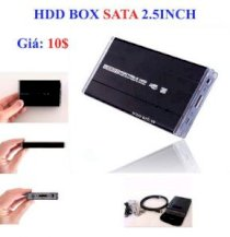 HDD Box 2.5 inch Sata (for notebook)