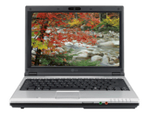 LG E200, Intel Core 2 Duo T7250 (2.0GHz 2MB cache L2, 800MHz FSB), 1GB DDR2 667MHz, 160GB HDD, 12.1inch, VGA ATI Radeo Xpress 1250, Windows Vista Home Basic