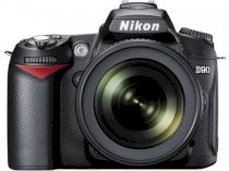 Nikon D90 (AF-S DX NIKKOR 18-105mm F3.5-5.6G ED VR lens, SB-400 and limitation strap attachment) Anniversary kit