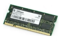 Infineon - DDRam - 1GB - Bus 266MHz - PC 2100 For Laptop