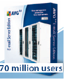 AVG E-mail Server Edition (10 users - 2 years) - Bảo vệ E-Mail server.