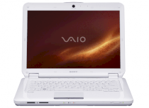 SONY VAIO VGN-CS110E/W (Intel Core 2 Duo T5800 2.0GHz, 3GB RAM, 250GB HDD, VGA Intel GMA 4500MHD, 14.1 inch, Windows Vista Home Premium)