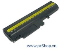 PIN IBM ThinkPad T40, T41, T42, T43 (6 Cell, 4400mAh) (92P1101 ASM 08K8192 FRU 08K8193 FRU 08K8214 )
