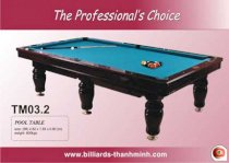 Bida Lỗ (Pool Table) TM03.2
