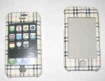 Vỏ nhựa burberry iPhone 2G